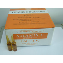 GMP Certified Vitamin C for Injection / Vitamin C Injection