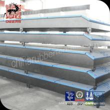 Panel de guardabarros de muelle de calidad garantizada y guardabarros marino con almohadilla frontal