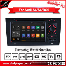 Android GPS para Audi A6 / S6 Reproductor de DVD
