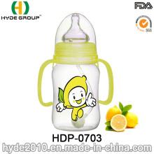 240ml PP Plastic BPA Free Baby Feeding Bottle (HDP-0703)