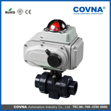 Válvula de bola del PVC del agua del precio barato especial para Industrial
