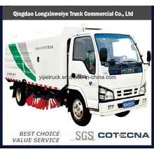 Isuzu 4 * 2 Road Sweeping Truck Road Sweeper Truck