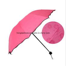 The Rain Flower Vinyl Umbrella