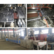 WPC Wood-Plastic Board Making Extrusion Machine