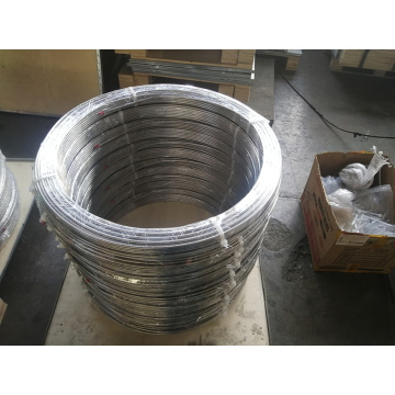 PVF Coating Zinc Plating Bundy Steel Tubes For Refrigerators Industries