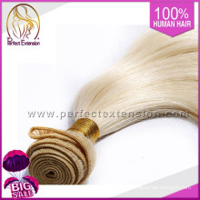 Sell Websit Blond Natural Long Russian Remy Hair Extensions Distributors