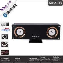 BBQ KBQ-169 25W Bass speaker 4inch * 2 promotional retro radio bluetooth lautsprecher