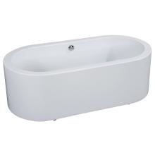 Кубок с одобренным качеством гладкой круглой свободной стоячей ванной