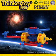 DIY juguete de educación de plástico para cultivar la creatividad de los niños