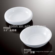 Cuisinière en porcelaine blanche et durable et durable Cuisinière en forme de diamant