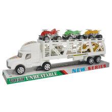 Solid Color Inertial reboque carro cabeça inércia caminhão brinquedo