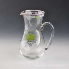 Decal Printing Glass Vase for Home
