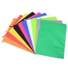 Custom Multicolor Candy Blank Bundle Pocket Small Gift bag Non-woven  Drawstring Bag