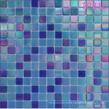 Blue Iridium Glass Mosaic for Wall Tile