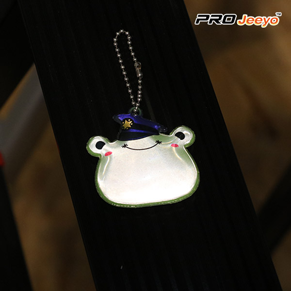 safety frog shape love PVC pendant