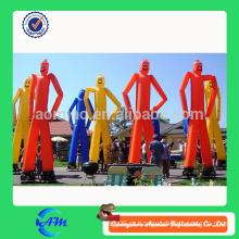 Ustom Inflável Publicidade Air Dancer / Two Legs dançarino de ar homem
