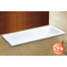 Cupc New Einfache Drop-in-Badewanne