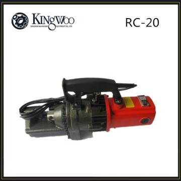 Découpeuse manuelle de coupeur de barre de fer de 20mm RC-20 / barre de rebar pour la construction