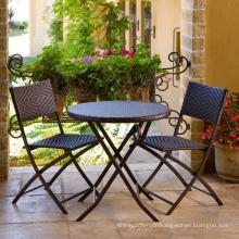 Rattan Garten Wicker Möbel Patio klappbarer Stuhl Set