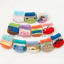 Эко-противоскользящая точек комфортабельные рябить детские носки