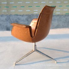 Modern New Design PU/Leather Sofa Chair with Metal Legs