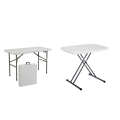 Folding outdoor table
