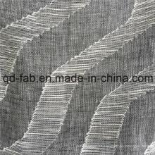 70 * 58 telas tejidas jacquard de lino de algodón (QF16-2516)