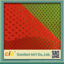 Fabrication de tissu en maille pour voile de sécurité réfléchissante
