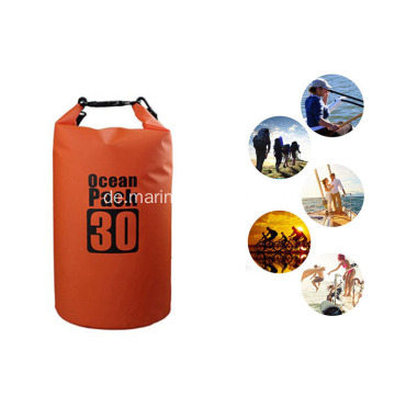 Outdoor Sports Durable PVC Wasserdichte 30L Custom Printing Trockenreinigungstasche
