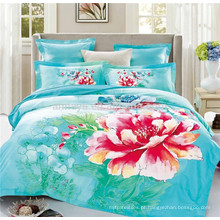 Produtos mais vendidos 3D Algodão Tecidos Têxteis Duvet Cover Bedding Set