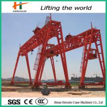 50-100ton Double Girder Electric Hoist Truss Gantry Crane