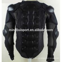 Chaqueta de montar a caballo de la motocicleta Armadura de cuerpo completo Chaqueta de protección ATV Motocross Gear Shirt