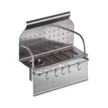 304 stainless steel utensil rack storage racks for kitchen