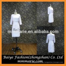 Hight Qualität benutzerdefinierte Promi lange Ärmel Reich Taille Partei Kleid lässig Kleid für die Hochzeit von Hong Kong