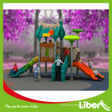 Hot Sale Cheap Garden Play Equipment, Funny Kids Outdoor Play Toys Plastic Slides