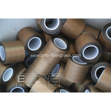 Non-stick and heat resistant PTFE tape with adhesive