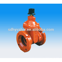 Awwa c515 fire protection gate valve DN150