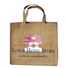 Lotos Hotel Store Promotion Jute Bag (hbjh-44)