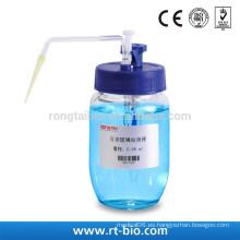Rongtaibio Dispensador De Inyección De Vidrio Ajustable vidrio translúcido 0.38ml