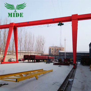 16 tonelada 18m taas electric gantry crane