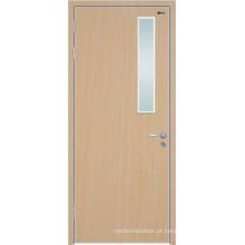 Portas exteriores da cicuta da madeira maciça, portas internas da madeira maciça, portas de madeira contínuas com vidro