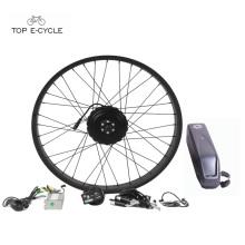 "26"" New Pedala Assisstance Electric Fat Tire Bike Hub Motor Conversion Kit"