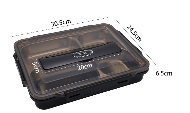 Portable Food Warmer Stainless Steel Bento Lunch Box 7