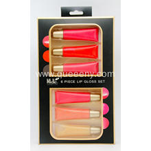 6 piece lip gloss set