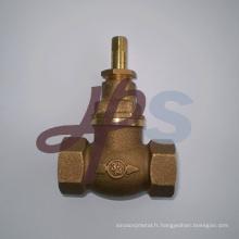 Coulée Bronze Robinets de robinet d'arrêt Fabricant