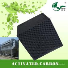 charbon actif activé par le traitement de l'air