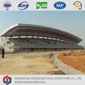 Стальная структура Ферменной конструкции трубы для стадиона сарай