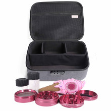 High End Smell Proof Bag Carton, Locking Stash Box For Weed Carrying Case