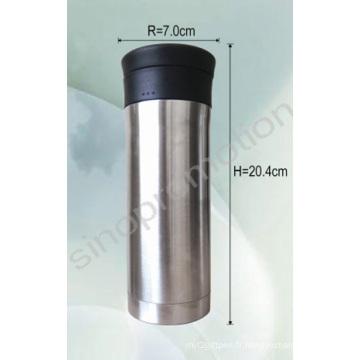 Tasse de thé à la tasse à vide à base de fiole personnalisée (THF301)