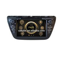 8 '' Doble Din Suzuki SX4 / Scross 2013 2014 reproductor de DVD del coche Sistema de navegación GPS con MP3 BT Radio Reproductor de música